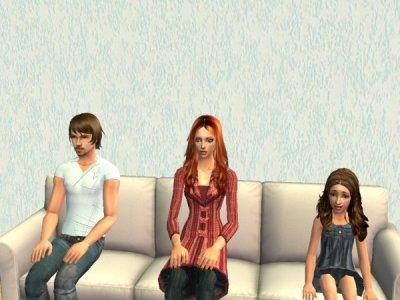 Kévin, Cerise et Amy.