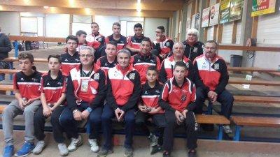 Finale du Championnat National des Clubs Jeunes.Cadets.Juniors.