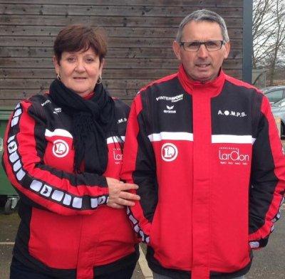 Championnat de la Loire doublette mixte, 26 et 27 mars 2016.
