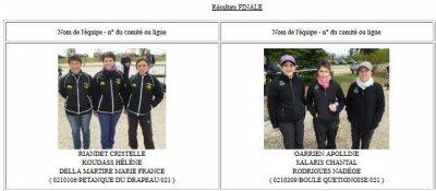 CHAMPIONNES DE COTE D OR 2016.