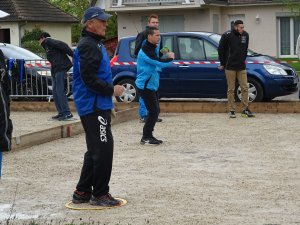 ST GERMAIN DU PLAIN CHAMPIONAT SENIORS SAMEDI 25 AVRIL.