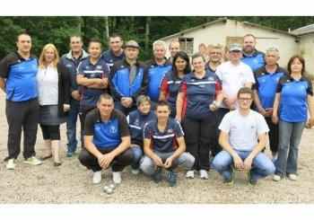 Premier tour départemental de pétanque : La Celle victorieuse face à Étang.JSL DU 7 JUIN.