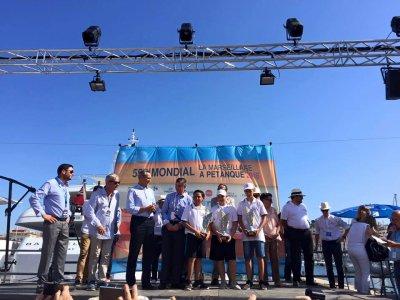 Mondial à pétanque : Pellegrini, Tropini et Reyes couronnés à Marseille - France 3 Provence-Alpes