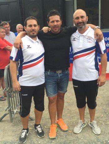 CHAMPIONNAT DE FRANCE 2016 À QUILLAN (11)   Doublettes Jeu Provençal du 26 au 28 août à Quillan