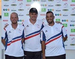 CHAMPIONNAT DE FRANCE TRIPLETTES SENIORS . MONTAUBAN 3 ET 4 SEPTEMBRE.