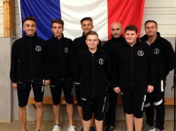 Finale CNC Jeunes.CHAMPIONS .CHAZELLES.