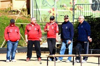 Championnat Départemental Triplettes Provençal.71.MACON.25/26 MARS.