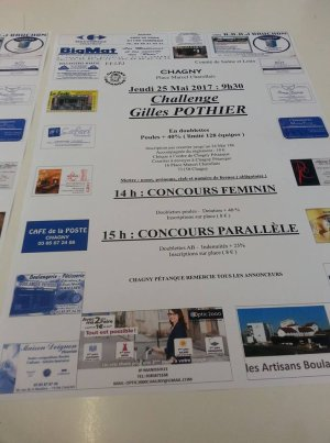 CHALLENGE GILLES POTHIER.CHAGNY.RESULTATS.