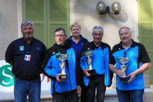 CHAMPIONNAT DE FRANCE VETERANS . MENDES WEEKEND DU 10-11 JUIN.