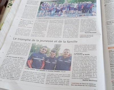 Article sur club LA CELLE EN MORVAN.71. A DECOUVRIR. JSL DU 21 JUIN.