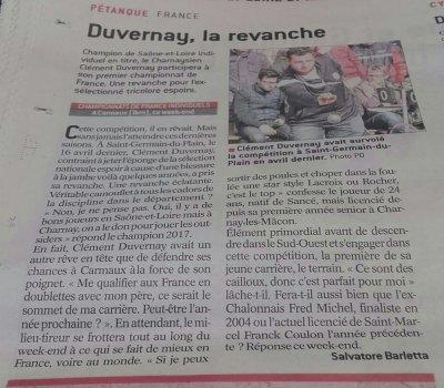 CHAMPIONNAT DE FRANCE DOUBLETTES FEMININ.DU  8 AU 9 JUILLET A CARMAUX.TARN.