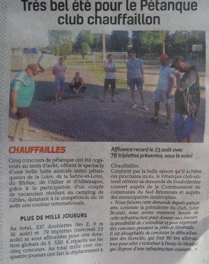 PORTRAIT D UNE JEUNE PRESIDENTE DU CLUB DE CHAUFFAILLES.JULIE BRUNEL.