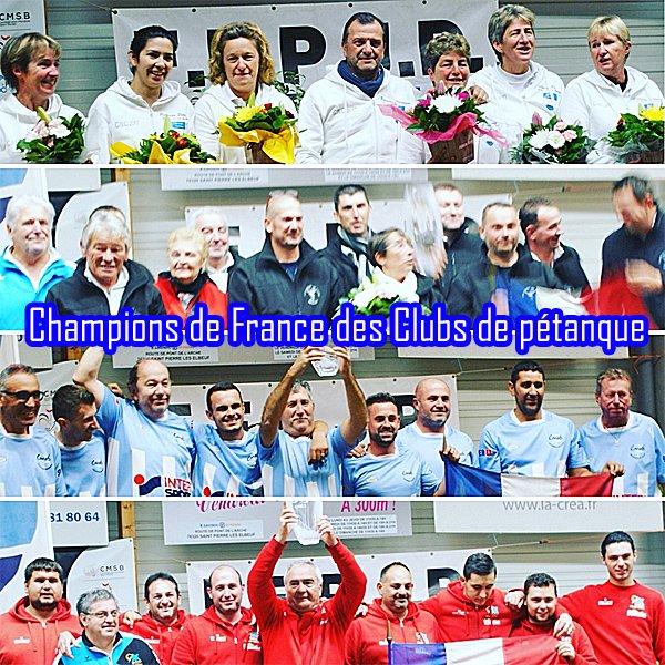 Finales des CNC Open & Féminin à St. Pierre les Ebeuf (76) .RESULTATS.