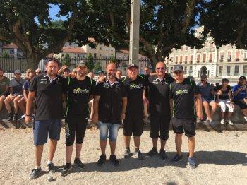 19ème National de Pétanque de Rive-de-Gier 7 & 8 Juillet 2018. IZEURE.