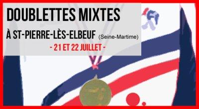 CHAMPIONNAT DE FRANCE DOUBLETTES MIXTE LE 21 ET 22 JUILLET.
