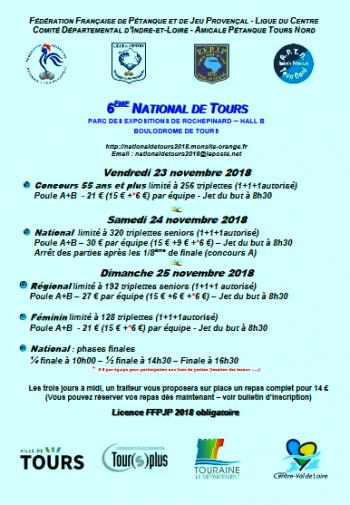 NATIONAL DE TOURS.