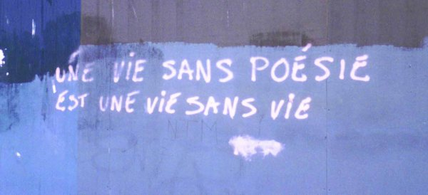 Ecrire de la poésie