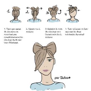 Petit tuto coiffure pour vous les filles. (;