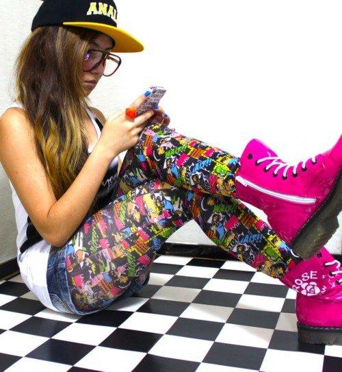 Le style swag va a toute age la preuve: