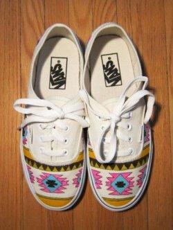 Vans aztèque  j'adore!!!