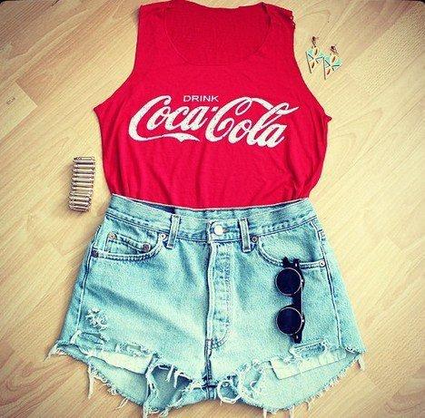 Tenue Coca-Cola