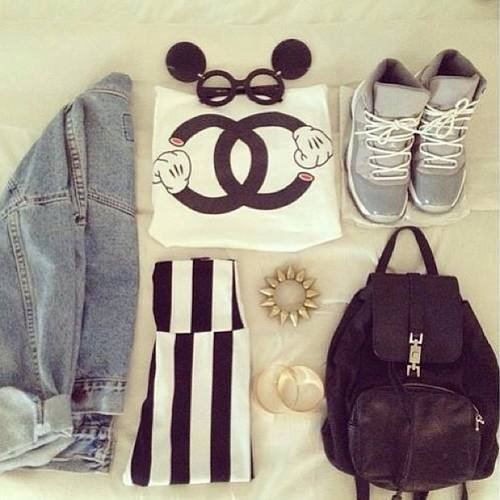 Tenue Chanel :D