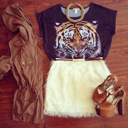 Tenue Tigre