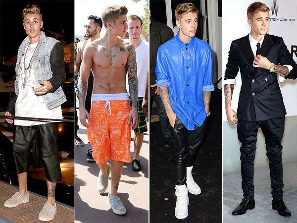 Style de Justin Bieber très SWAG ;)