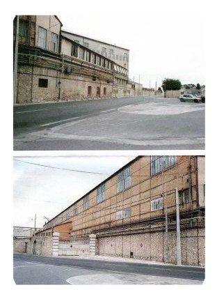 les bureaux remplacés aujourd'hui par un Hotel apres la demolition voir image,la clinique,la porte principale des chantiers.  .