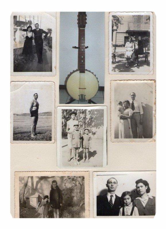 quelques photos des années ou mes parents etaient fiancés et années de guerre 39/45