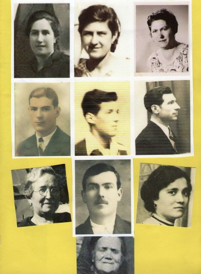 fréres et soeurs de maman Maria Fernandez ses parents et soeurs de son papa.descendance Fernandez.