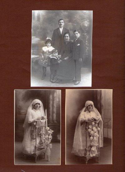 mes grands parents maternel .et maison de grand mére en Espagne année 1900 donné à sa soeur Maria Dolores à son depart pour la France en 1921-