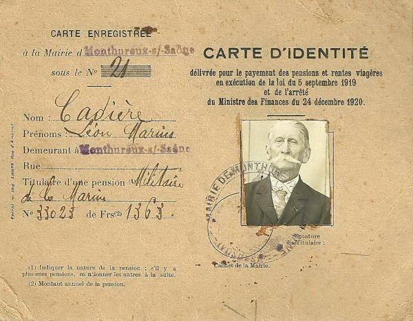fréres de Léon Marius Cadiere,Eugène et son épouse,Joseph,ses soeurs Margueritte et Alexandrine .