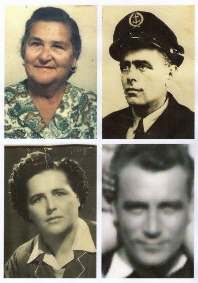 parent Nérone-Cravassac--4 fréres et soeurs Elisan --enfants de Louise Nerone et Louis Jean Elisan.