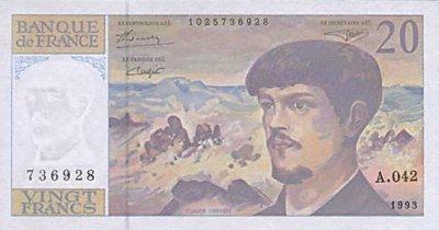 voici la fin  de la monnaie en franc au 31 decembre 2000 et le debut des euros
