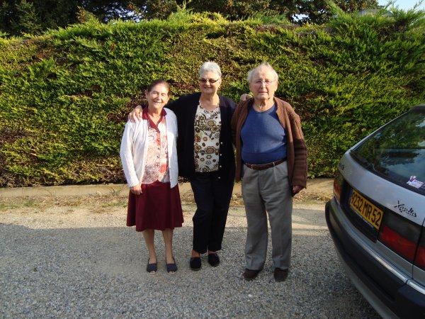 voici Odette Val de Meuse 52 et Pierre de Plancher Bas 70 nos cousins