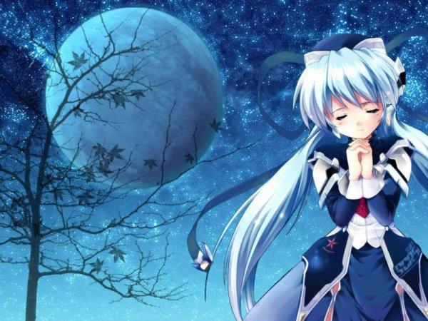 une lune