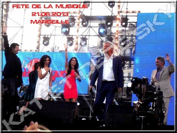 Fête de la musique - Patrick Bruel Aida Tal Patrick sébastien & Salvatore adamo