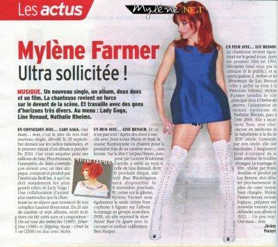 Mylène ultra sollicitée !