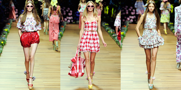 D&G Spring 2011 | flash-back