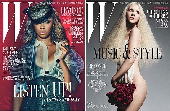 W magazine | cover