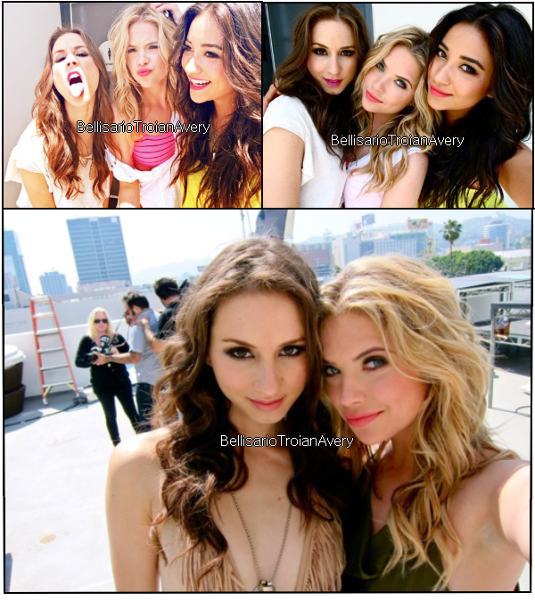 Photos personnelles de Troian Bellisario, avec Ashley Benson, Lucy Hale et Shay Mitchell. Elles sont sublimes !