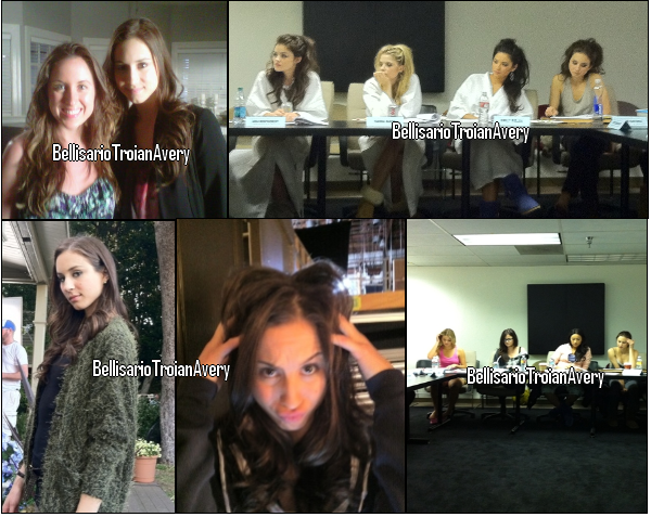 Behind the scene : Photos de tournage de la saison 2 de Pretty Little Liars ! + news