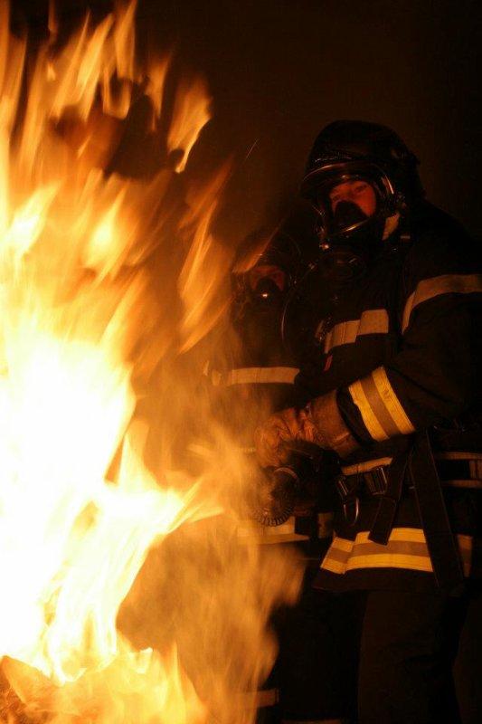 Maintenant un autre feux !