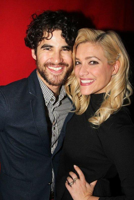 Darren et Mia récement.