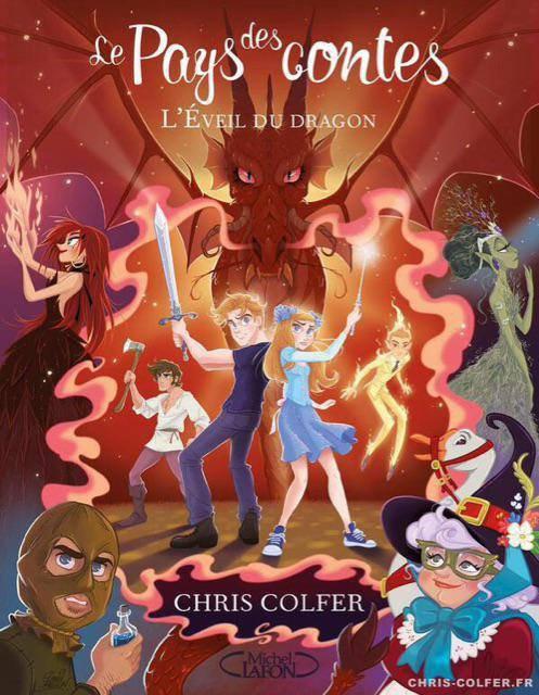 Couverture française du troisième tome du pays des contes de Chris qui sera en vente le 15 Mai.