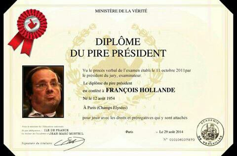 Pétition hollande dégage