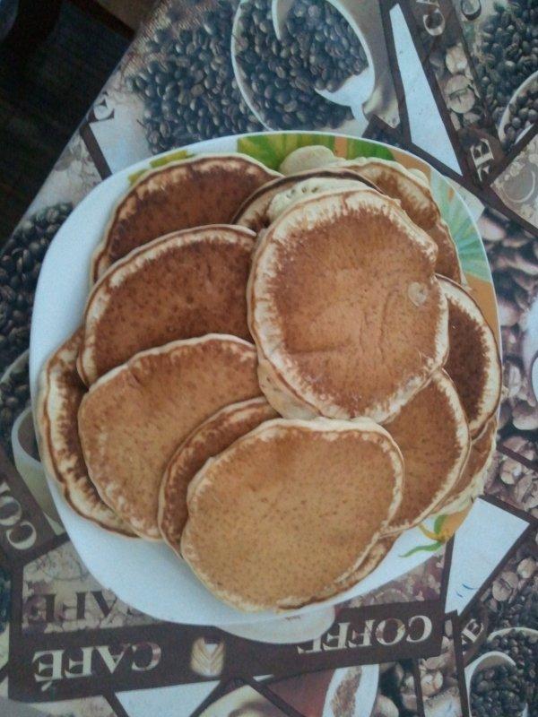 pancakes (sans oeuf)