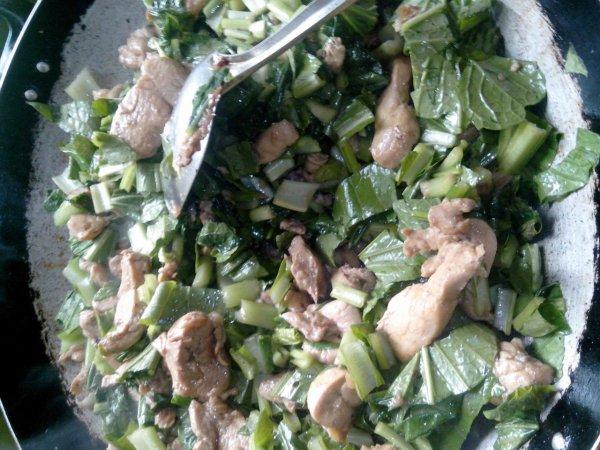 Sauté poulet bredes chinois