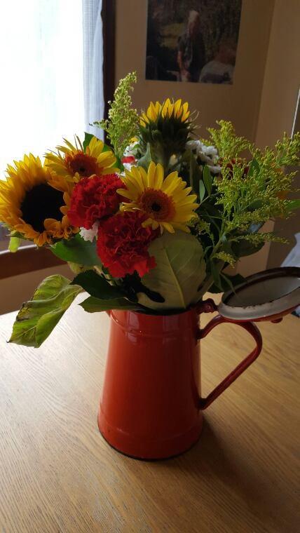 Voilà un beau bouquet !